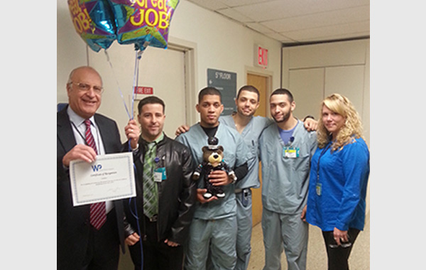 Unitex Recognized by White Plains Hospital