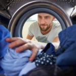 washing scrubs at home