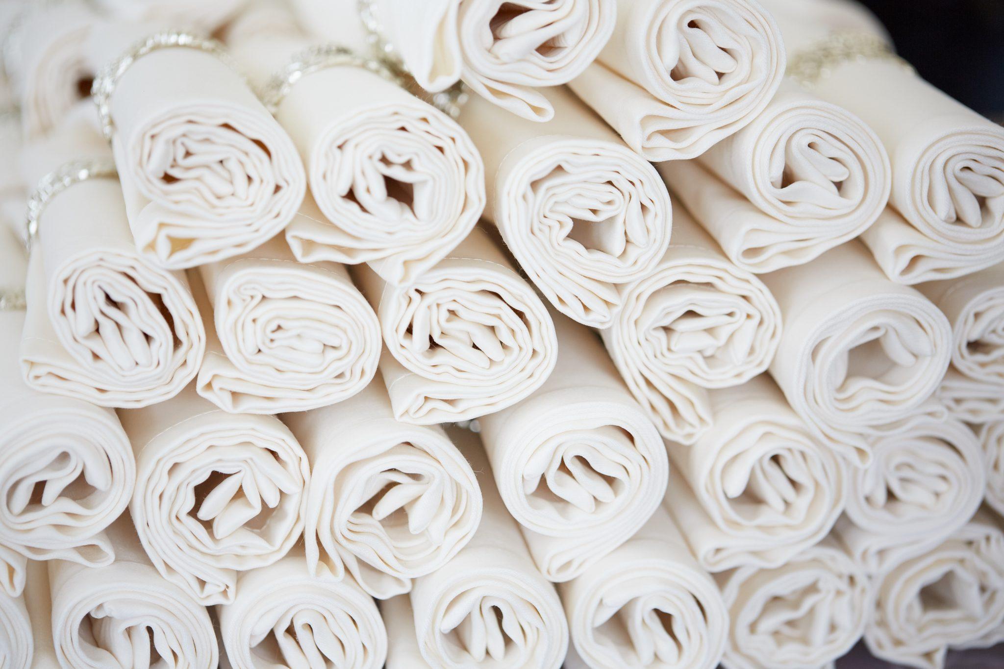linen service napkins
